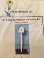 Bird House on a Pole Kit