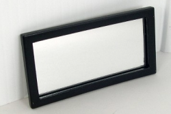 Ahsley Ebony Rectangular Mirror