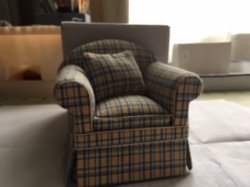 Chair in Plaid