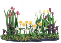 Tulip Flower Bed