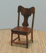 Oak Side Chair Pair