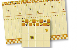 Fruit Motif Wall Tile Sheet