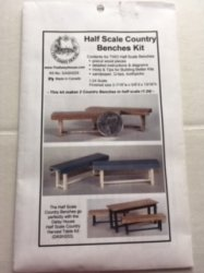 Country Benches Daisy House Kit