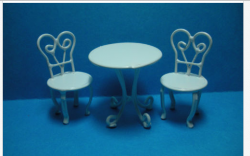 Three Piece Ice Cream Parlour Set
