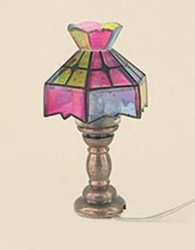 Crown Tiffany Table Lamp