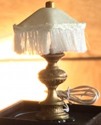 Downtown Fringed Table Lamp