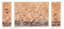 Chinoiserie Panels Half Inch Scale