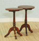 Pair of Small Round Tables