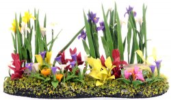 Half Inch Scale Landscape Floral Ready to Use