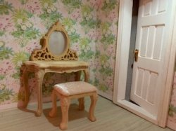 Dressing Table and Bench