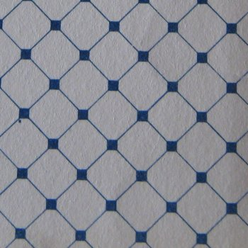 Blue Dutch Tile Paper