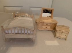 Double Bed Set Three Piece