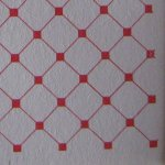 Red Dutch Tile Paper