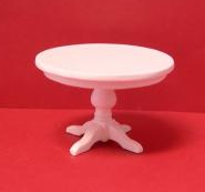 Round Table in White