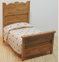 Golden Oak Double Bed