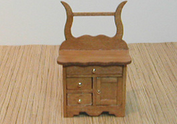 Golden Oak Washstand