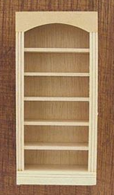 Five Shelf Bookcase Unpainted