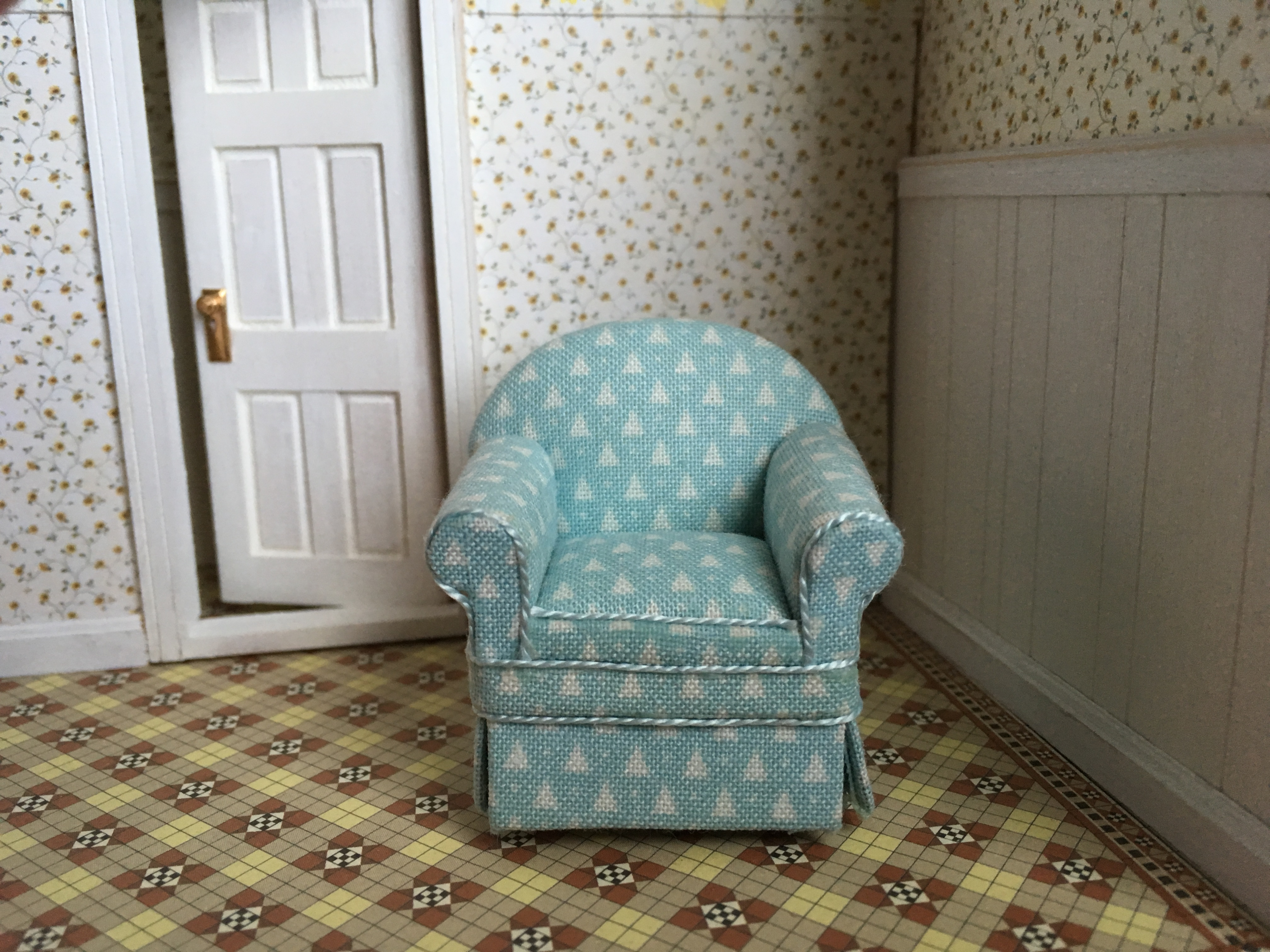 Seaglass Fabric Chair
