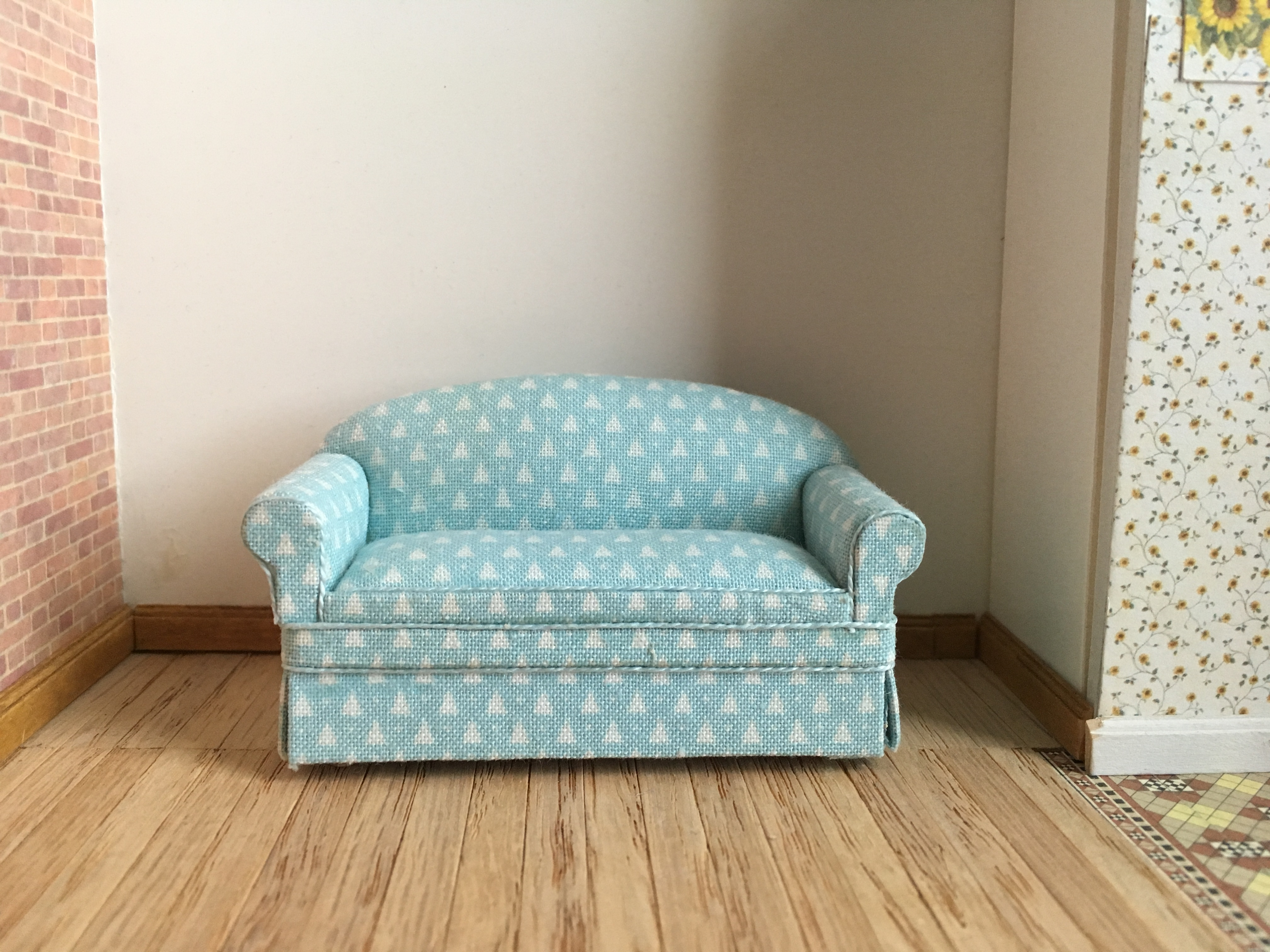Seaglass Fabric Sofa