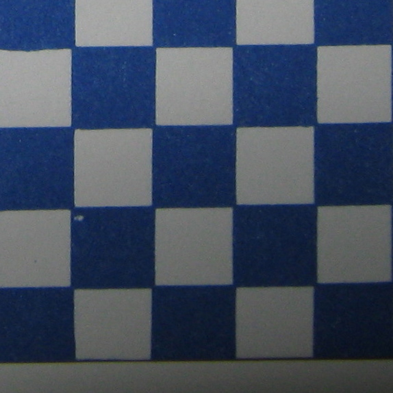 Blue Check Wall or Floor Paper