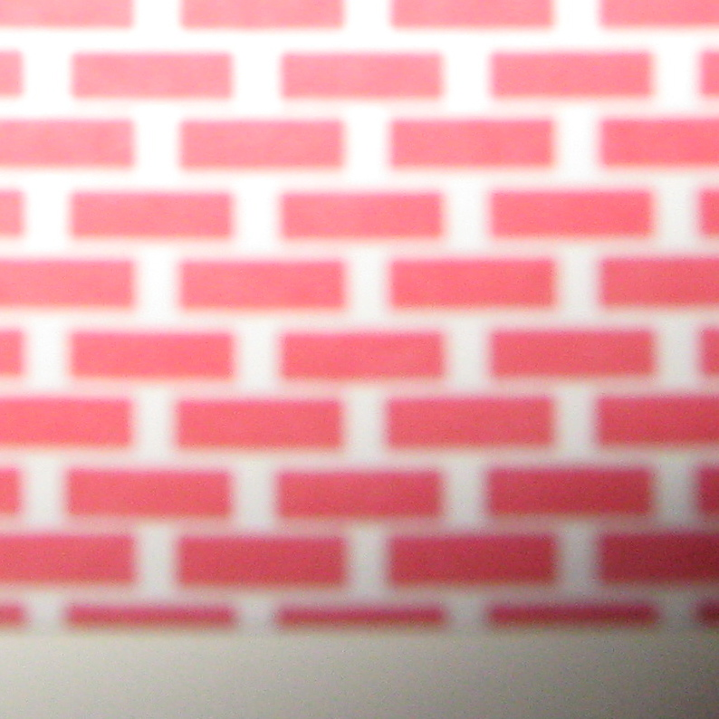 Bright Red Brick Wallpaper