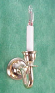 Wall Sconce Pair Gold Finish